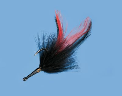 Flyfishing A deadly pattern for tarpon and other big-game saltwater species, this fly is sure to hook some monster fish. Per each. Sizes: Small (1/0), Large (3/0). Color: Black. Color: Black. Type: Saltwater Flies. - $4.99