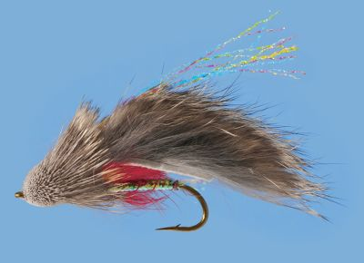 Flyfishing A large streamer fly that mimics a sculpin and is exceptionally enticing to large trout and other fish. Per 2. Sizes: 4, 6. Color: Tan. Color: Tan. Type: Streamers. - $6.29