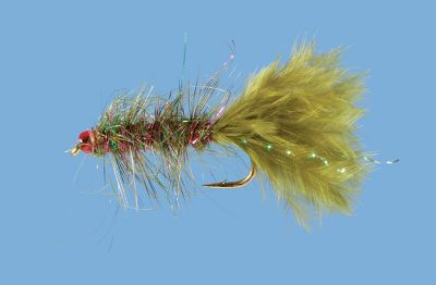 Flyfishing A damsel-fly nymph presentation thats used primarily in still waters, but is extremely effective in streams and rivers as well. Per 2. Size: 12. Color: Olive. Color: Olive. - $5.39