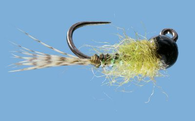 Flyfishing Great for Euro-style nymphing, this fly is excellent for working faster, deeper pocket water. The tungsten bead head lets it sink while the textured body allows it to still drift, giving you a variety of presentations. Per 2. Sizes: 12, 14, 16. Color: Olive Flash. Color: Olive Flash. Type: Nymphs. - $5.39