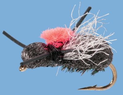 Flyfishing A terrestrial pattern that mimics a wide variety of beetles, flies and other large insects. It can be fished in all waters and works exceptionally well on windy days. Per 2. Size: 14. Color: Black. Color: Black. - $3.99