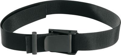 Entertainment Load up this durable 2 nylon web belt with your holster and all your shooting accessories. It makes the perfect companion for hip holsters and most other accessories like magazine holders, etc. Convenient flip-open buckle and keeper. Size: Fits up to 50 waist. Color: Black. Color: Black. - $14.99