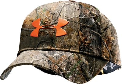 Hunting The water-resistant Make It Rain cap features a moisture-wicking Heat Gear sweat band. Imported. Camo pattern: Mossy Oak Break-Up Infinity ,Realtree AP . - $12.88