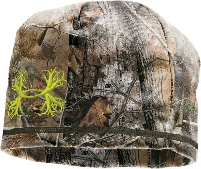 Hunting The Under Armour Dead Calm Beanie incorporates UA Scent-Control technology to help reduce odors when you are out hunting. Windproof laminated fabric and soft fleece backing. Imported.Note: This item does not have the antler logo but instead a solid UA.Sizes: S/M, L/XL.Camo patterns: Mossy Oak Break-Up Infinity, Realtree XTRA/Velocity. Size: S/M. Camo Pattern: XTRA/DYNAMITE. Size S/M. Color Xtra/Dynamite. - $26.88