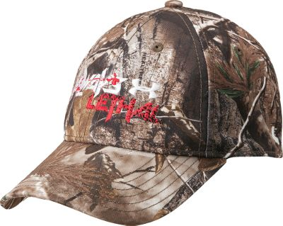 Hunting Cabelas-exclusive cap has a HeatGear sweatband to wick away moisture. Stretch fit. One size fits most. Imported. Camo patterns: Mossy Oak Break-Up Infinity, Realtree AP. - $11.88