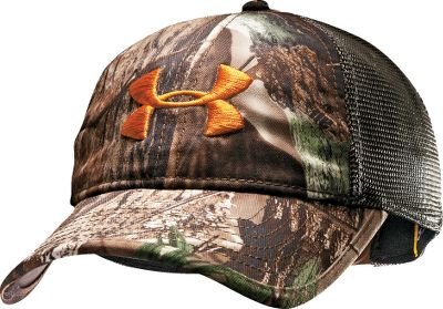 Hunting The Under Armour Camo Mesh-Back Cap has a mesh back for enhanced ventilation. HeatGear sweatband wicks away moisture. Adjustable fit. One size fits most. Imported.Camo patterns/color: Mossy Oak Break-Up Infinity, Realtree MAX-4/Dynamite, Realtree XTRA/Dynamite. Type: Caps. Size: One Size Fits Most. Camo Pattern: XTRA/DYNAMITE. Size One Size Fits Most. Color Xtra/Dynamite. - $21.88