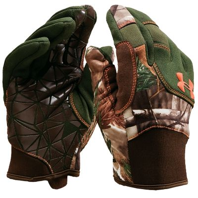Hunting Excellent warmth-to-weight ratio without being too bulky. Tacky ultragrip palms for a sure grasp. Made of weather-resistant fabric. Athletic fit. Imported.Sizes: S-XL.Camo patterns/color: Mossy Oak Break-Up Infinity, Realtree XTRA/Dynamite. Type: Gloves. Size: Large. Camo Pattern: Mossy Oak Break-Up Infinity. Size Large. Color Mo Break-Up Infinity. - $19.88