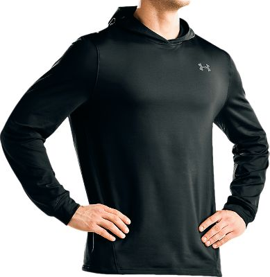 Hunting Crafted of a double-sided fabric that wicks moisture away from your skin and circulates body heat. These properties, in conjunction with its more relaxed fit, make it the optimum cold-weather base layer for both active and stationary days in the field. ColdGear keeps you warm, dry and comfortable without weighing you down. Imported.Sizes: S-3XL. Colors: Black, Timber. Type: Hoodies. Size: X-Large. Color: Black. Size Xl. Color Black. - $29.88