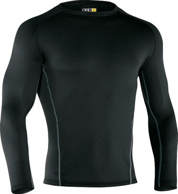 Extreme When temperatures tumble, count on this top to keep you warm and dry. Built for optimal loft and insulating properties, Base 3.0 features flatlock stitching and ergonomic seam placement. Raglan sleeves for superior comfort and mobility. Constructed of moisture-wicking and insulating 7-oz. 97/3 polyester/elastane. Odor-reducing ArmourBlock technology keeps garments fresher between washings. Imported. Sizes: S-3XL. Color: Black. Type: Base Layer Tops. Size: Large. Color: Black. Size Large. Color Black. - $35.88