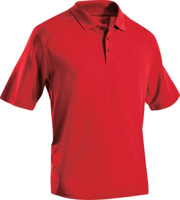 Golf Durable 70/30 polyester/cotton with anti-odor technology for all-day comfort. Self collar and center-back tonal logo. Imported. Sizes: M-2XL. Colors: Dark Navy, Desert Sand, Red, Black. - $29.88