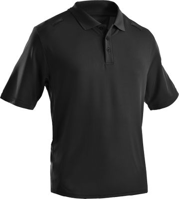 Golf Lightweight 4-oz. 95/5 polyester/elastane offers rugged stretchability for high-movement activities. ArmourBlock anti-odor technology and breathable, underarm venting provide all-day comfort. Shoulder microphone socket. On-sleeve pen holder. Imported.Sizes: M-2XL.Colors: Black, White. - $34.88