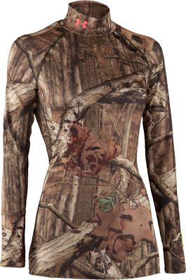 Hunting Rugged EVO ColdGear 87/13 polyester/elastane fits close without constriction to allow maximum range of motion. Locks in body heat and accelerates moisture wicking. Superior scent suppression neutralizes odor. Flatlock stitching helps eliminate abrasion for easy layering. Imported.Sizes: S-XL.Camo pattern: Realtree XTRA. Type: Base Layer Tops. Size Large. Color Realtree Xtra. - $39.88