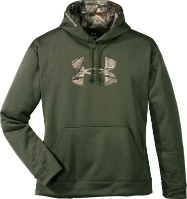 Hunting If you thought all hoodie sweatshirts are built the same, the high-performance warmth of this versatile sweatshirt is sure to change your way of thinking. Take a look at what a few Cabelas customers had to say about it: Love this hoodie! Its warm, sheds water well, and looks GREAT! I dont usually wear pullover hoodies, but this one is so comfortable and warm, Ive been wearing it all winter. Verminterror, Kansas I have both the black and the brown and I love them both. Hotmari This Hoodie is great! Very warm and very comfortable. Great buy and recommend it to anyone. Nino250exConstructed of Under Armours signature polyester ArmourFleece, this high-performance sweatshirt combines a soft, heat-trapping lining with a fast-drying shell. The result is consistent warmth you can count on over a variety of conditions. In addition, four-way Armour Stretch gives it the ability to move with you in any direction. Three-piece hood. Pouch pocket. Ribbed cuffs and hem. Imported.Sizes: M-3XL.Colors: Sage. Type: Hoodies. Size: Large. Size Large. Color Sage. - $64.99