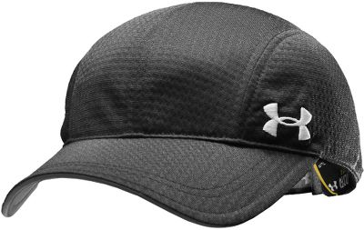 Fitness Classic runner-cap style. All-over mesh for maximum air circulation. 100% polyester. One size fits most. Imported.Colors: White/Neo Pulse, Black. - $21.88