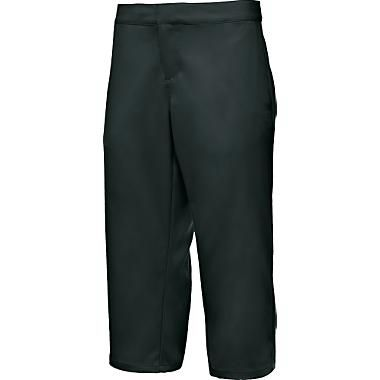 "Fitness Slip into these sharp-looking stretch capris when you need a little performance to go with your style. HeatGear technology delivers core temperature regulation and maximum breathability. Feature a low rise and loose fit. Deep side pockets and secure back pocket. 100% polyester. Imported.Inseam: 19"".Sizes: 4-16. Color: Black. - $29.88"