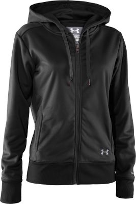 Fitness Signature Armour Fleece with durable water-repellent treatment protects you from the elements and keeps you warm. Side pockets on princess seams. Extended 3.5 ribbed cuffs and hem. 100% polyester. Imported.Sizes: XS-XL.Colors: Black, Break, Carbon Heather. - $49.88