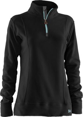 Fitness Stylish and warm, 100-gram ColdGear fleece with thermal insulation traps heat for warmth and wicks moisture away for quick drying. Zip it up to seal out cold air. 100% polyester. Imported.Sizes: S-2XL. Colors: Black, Deep Sea, Honeysuckle, Ivory. Type: 1/4-Zip Pullovers. Size: Small. Color: Deep Sea. Size Small. Color Deep Sea. - $39.88