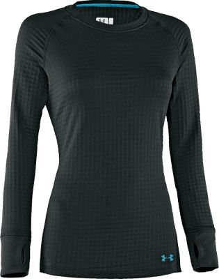 Entertainment A great layer for extreme cold-weather activities, its 7.25-oz. 96/4 polyester/elastane mix wicks moisture, keeping you dry and warm. Raglan sleeve design maximizes mobility for unrestricted movement. Flatlock seams reduce chafing. Thumbhole cuffs keep sleeves in place. Imported. Sizes: XS-XL. Color: Black. - $84.99