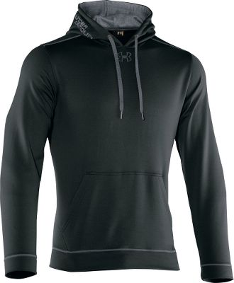 Fitness Made of Under Armours exclusive Armour Fleece fabric, this essential cold-weather Tech Fleece Pullover Hoodie keeps you warm without weighing you down. Its soft, brushed inner layer traps your body heat. The hard-faced, protective lightweight outer layer is quick-drying and features Under Armours signatureMoisture Transport System that wicks moisture away from your body to keep you drier longer. The hood delivers maximum comfort. Kangaroo pocket. 7.5-oz. polyester. Imported. Size: Large. Color: Elemental. Gender: Male. Age Group: Adult. Material: Fleece. Type: Long-Sleeve Shirts. - $34.88