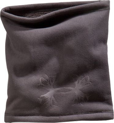 Fitness Protect your face and neck from the elements with this lightweight neck gaiter. Quick-drying ColdGear fleece has a soft feel that won't irritate your skin. Embossed UA antler logo. One size fits most. Imported.Color: Black. - $19.99
