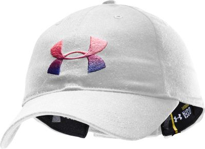 Fitness Show your support for finding a cure wearing this cap from Under Armour. It has True Pink Shes A Fighter embroidery and ribbon on back. Hook-and-loop adjustable fit. One size fits most. Imported.Colors: Black, White. - $19.88