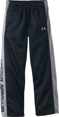 Fitness Keep your little guy comfortable in these mesh pants from Under Armour. 100% polyester. Imported.Sizes: 0-3 mo., 3-6 mo., 6-9 mo.Color: Black. - $14.88