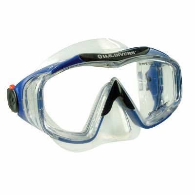 Wake Enjoy leak-free viewing beneath the waves. The Avalon Deluxe Mask boasts a crystal-clear, three-window Siltech mask that adapts to your face. Easy-to-adjust buckles. One size fits most adults. Color: Electric Blue. - $19.99