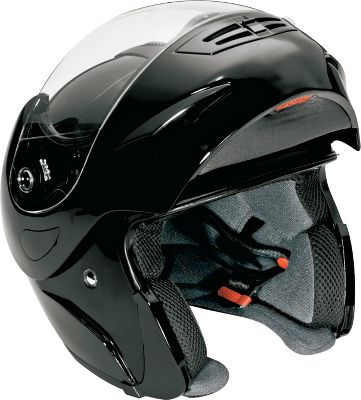 Auto and Cycle No one should ride a motorcycle, snow machine, or ATV without a helmet. Made with a lightweight, thermoplastic shell, this helmet is Department of Transportation-approved. Full-face, modular helmet is Bluetooth 2.0 compatible with Bluetooth-compatible devices. Features one-touch call answering, one-touch volume control and built-in mono speakers. ABS thermoplastic helmet with removable/washable liner. FCC approved. Head Circumference (in.) Helmet Size 19-3/4 Youth S 20-1/8 Youth M 21-1/8 Youth L 22 Small 22-3/4 Medium 23-1/2 Large 24-1/4 X-Large 25 XX-Large - $49.88