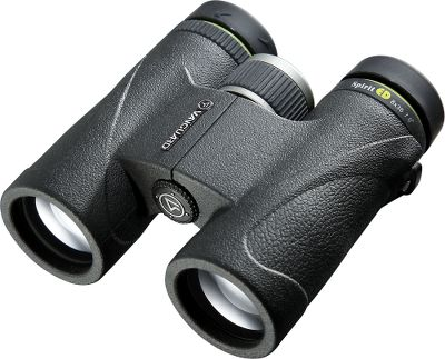 Hunting Vanguard Spirit ED 10x42 Binoculars feature ED glass lenses and an advanced prism design that provides up to 90% light transmission for near-perfect optical clarity. Extra-low dispersion ED glass reduces color dispersion, provides sharper color resolution and improves contrast. Fully mulitcoated lenses and phase-coated BaK-4 prisms boost light absorption for improved image clarity and low-light performance. Nitrogen-charged and O-ring-sealed for waterproof, fogproof reliability. Twist-out eyecups with extended eye relief. Soft, textured rubber armor with an ergonomic grip and thumbrest. Extra-large focus wheel. Includes quick-clip strap and carry bag. - $299.99