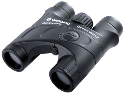 Hunting Ultralightweight and super compact, these Vanguard Orros 10x25 Compact Binoculars boast heavyweight optical performance. BaK-4 prisms deliver crystal-clear image resolution. Fully multicoated lenses increase brightness in low-light conditions. Nitrogen charged and O-ring sealed for 100% waterproof, fogproof performance. Offset focus wheel for simple one-handed use. Extra-long eye relief. Includes neck strap and carry case. Type: Compact. - $79.99