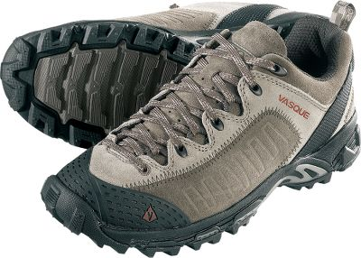 Camp and Hike Combines everyday comfort with performance-driven features. Vasque Off-the-Grid outsoles offer slip protection. Rounded heels for shock absorption. 1.6mm suede uppers. Molded rubber toecaps. Secure lacing and tenacious sticky rubber soles. Imported.Average weight: 1.8 lbs./pair.Mens sizes: 8-14 medium width. Half sizes to 12.Color: Peat Brown. Type: Hikers. Size: 8. Shoe Width: MEDIUM. Color: Peat Brown. Size 8. Width Medium. Color Peat Brown. - $49.99