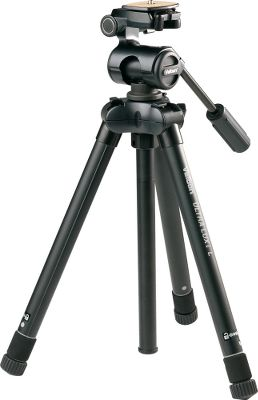 Hunting Its sturdy, compact leg system makes this professional-quality tripod perfect for travel. Incorporating a twist-lock leg-locking system, each leg quickly locks and unlocks with just a 1/2-turn twist. Each leg can be set at three different angles for versatile, in-the-field setup. Locking three-way panhead provides one-handed tilt movements. Three-section aluminum legs. Split-center column for low-angle setup. 9-lb. maximum load capacity. Imported.Folded length: 15.Elevated height: 63.Leg sections: 5.Weight: 2.9 lbs. Type: Tripods. Ultra Luxi L-Ph157q. - $179.99
