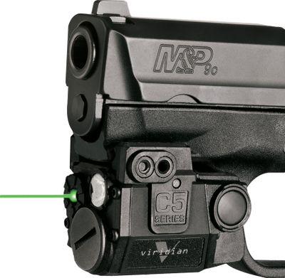Fitness The world's first sub-compact-mountable laser/tactical-light combo is so tiny, it tucks neatly between the trigger guard and muzzle with no overhang. It features a daytime-visible green laser, and you also can get it with a 100-lumen tactical light that features a 140-lumen strobe mode. Three included modular rail sets allow quick mounting to most handguns and rifles with rails. Ambidextrous operation. Adjustable beam width and point-of-impact. Operates on CR-2 3-volt lithium battery(included). 60-minute run time with light and laser. 4+ hours with laser only. Weight: 2.4 oz. Dimensions: 1.9 L x 1-1/2 H x 1.31 W. Available: Sub-Compact Laser, Sub-Compact Laser with Light. Size: UNIVERSAL SUB-COMP. Color: Green. Type: Laser Sights. - $179.88