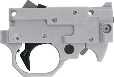 This 10/22 LR Trigger Guard 2000 is machined to give a superb, crisp trigger that will provide years of enjoyment to the shooter who demands the very best. Features an internal pretravel adjustment that is set at the factory in order to greatly reduce pretravel usually found on the 10/22 trigger guard. Match trigger guard is CNC machined from a solid piece of aircraft aluminum for strength and tight tolerances. Hardened steel trigger plunger is positioned to depress directly back to eliminate cant or drag for a crisp trigger pull. Includes auto bolt release, extended magazine release and factory-set adjustment screw. For Ruger 10/22 LR. Colors: Silver, Black. Color: Silver. Type: Accessories. - $229.99