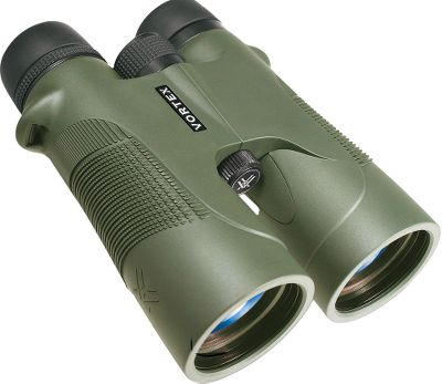 Hunting Find the Vortex Optic that is right for you. Vortex Diamondback 10x42 Binoculars deliver value and performance in quality optics. Fully multicoated lenses increase light transmission by using multiple anti-reflective coatings on all air-to-glass surfaces. Roof-prism construction supports greater durability in a compact package. Rubber armor provides a sure, nonslip grip. Twist-down eyecups are metal-reinforced for extra durability. Adjustable right-eye diopter provides optimal focus for users eyes. Includes tethered lens covers, neck strap and padded carry case. Backed by Vortexs VIP unlimited lifetime warranty. Imported. Type: Full-Size. - $229.99