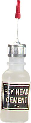 Flyfishing The same Applicator Bottle used with the Wapsi Head Cement is also available by itself. This unique, squeeze-applicator bottle allows for pinpoint accuracy. - $4.79