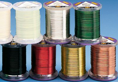 Flyfishing Give any wire-bodied or wire-ribbed fly a new, colorful look with this ultra wire. This assortment gives you one spool of each color. Includes Black, Copper, Green, Red, Gold, Silver. Sizes: Fine, Medium. Size: SMALL. Color: Silver. Gender: Male. Age Group: Adult. Type: Threads. - $10.99