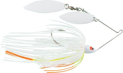 Fishing Extremely productive right out of the package. Screaming Eagle Spinnerbaits are crafted with a fish-catching Mustad needlepoint hook and premium swivel. Light piano wire causes vibration while a custom, hand-tied skirt brings fish in from a distance. Per each. Size: 1/2 oz. Colors: (010)White, (014)Blue Herring, (102)Mouse, (103)Green Shad, (104)Purple Shad,(109)Spot Remover, (111)Hot White/Chartreuse, (119)Sexy Shad, Color: Chartreuse. Type: Spinnerbaits. - $7.49