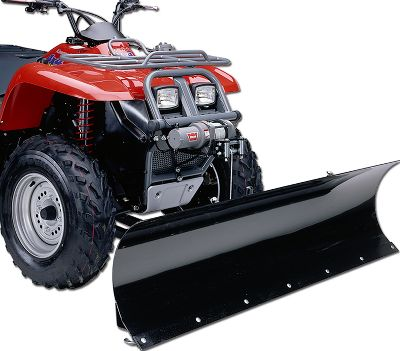 Motorsports The 60 ATV Utility Plow lets you handle hours of manual labor in minutes. You can easily move and shape gravel, dirt and snow. Blades feature five-position, left and right adjustment, vertical pivot on 1-1/2 bushings and up to 11-1/2 of lift height. Spring-tensioned blades will trip when overloaded, then automatically reset for continued use. Raise and lower the blade manually with lift handle (sold separately). Available for most ATVs. Year: 07-09. Type: ATV/UTV Implements. Model: Outlander 800. Make: Bombardier. Year/Make 06-08 Outlander 800. - $399.99