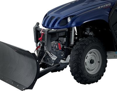Climbing Take the effort out of your plowing jobs using one of the most versatile, durable and easy-to-use plow systems on the market. The rapid connection system easily connects and disconnects to the front of your UTV without tools no more climbing underneath for attachment. Front-mounted receiver doesnt reduce ground clearance. The 12-gauge steel, 72 blade has stable, wide plow bases; durable, extra-large plow skids; and a low-friction, powder-coated finish. The reinforcing ribs, center cross member and sturdy boxed design give it best-in-class longevity. The blade trips forward when striking an immovable object, protecting the assembly from damage. Manual side-to-side blade pivot with five-position angle adjustment (two left, two right and straight forward). Requires winch (sold separately) to lift. Year: 08 - Current. Type: ATV/UTV Implements. Model: Prowler. Make: Arctic Cat. Year/Make 08+ Ac Prowler. - $799.99
