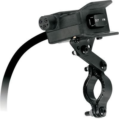 Motorsports Plug the corded winch remote directly into this all-in-one switch box no drilling or awkward socket installation required. Includes switch, remote control (not shown) and hardware. Replacement rocker switch with plug in. For Warn RT/XT winches. - $61.88