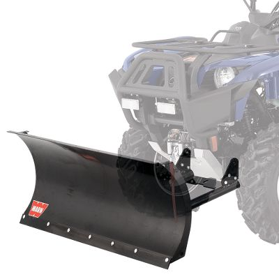 "Climbing Take the effort out of your plowing jobs using one of the most versatile, durable and easy-to-use plow systems on the market. The rapid connection system easily connects and disconnects to the front of your ATV without tools no more climbing underneath for attachment. Front-mounted receiver doesnt reduce ground clearance. The 12-gauge steel blade is extra tall for increased snow-removal efficiency, and has stable, wide plow bases; durable, extra-large plow skids; and a low-friction, powder-coated finish. The reinforcing ribs, center cross member and sturdy boxed design give it best-in-class longevity. The 60 blade trips forward when striking an immovable object, protecting the assembly from damage. Manual side-to-side blade pivot with five-position angle adjustment (two left, two right and straight forward). Requires winch (sold separately) to lift. Year: 12 - 14. Type: ATV Plow. Plow Size: 54"" Blade. Model: TRX 500. Make: Honda. Year/Make 12+ Trx500. - $449.99"