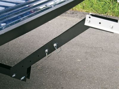 "Hunting This optional Riser moves the Bird Hitch up 12""-18"" and away from the bumper, leaving plenty of clearance for a tailgate. All stainless/powder-coated steel construction. Made in USA. Color: Stainless. Type: Tools. - $44.88"