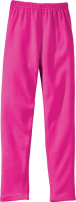 Soft microfiber fabric wicks moisture away from her skin to keep her dry and warm. Anti-pilling, double-brushed surface on both the inside and outside of the garment ensures better thermal retention. 100% polyester. Imported.Sizes: S-L.Color: Pink. - $9.99