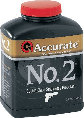 Accurate offers smokeless powders for all handguns, rifles and shotguns. They specialize in the right powder for the right use. Available: No. 2 Extremely fast-burning, double-base spherical handgun powder suitable for use in a wide range of handgun calibers. Low recoil and low flash make No. 2 well suited for use in short-barrel concealed-carry applications. No. 7 Intermediate-burning, double-base spherical powder suitable for a wide range of handgun calibers. No. 7 is an excellent choice for high-performance semiautomatic handguns. 1680 Extremely fast-burning, double-base spherical rifle powder. 1680 is well suited for large-capacity, high-performance handgun cartridges, as well as low-capacity rifle cartridges. 2230 Fast-burning, double-base spherical rifle propellant. This versatile powder was designed around the .223 Rem., but can be used in many small- and medium-caliber cartridges. 2230 also works well in big straight-wall cartridges. Ideal for progressive loading. 2495 Single-based, extruded rifle powder developed for the .308 Win. Can be used in a wide range of rifle calibers. 2495 is a popular powder for the .308 Win. shooting disciplines as well as heavy-bullet .223 Rem. target applications. 2520 Medium-burning, double-base spherical rifle powder designed around the .308 Win. Extremely popular with service shooters. 2520 performs extremely well in .223 Rem. with heavy match bullets. Well within the threshold limit for M14 systems. 4064 Intermediate-burning, single-base, short-cut extruded rifle powder designed around the .30-06 Spgfld. This versatile 4064 powder works extremely well in calibers such as .22-250, .220 Swift, .24 Type: Smokeless Powder. - $23.99