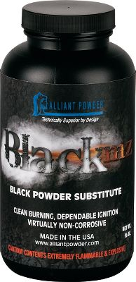 A black-powder substitute from Alliant Powders, a company well known for its popular smokeless powders. Black MZ is clean-burning with a high moisture tolerance, resulting in consistent and reliable shot-to-shot performance and easy cleanup. Alliant developed Black MZ to serve hunters, cowboy-action shooters and reenactment enthusiasts in any weather, and it has been extensively tested in a wide range of black-powder firearms. This powders composition delivers lower barrel pressures while increasing muzzle velocities and its virtually noncorrosive so you can enjoy more shots between cleanings. Size: 1-lb. canister. Color: Black. - $31.99