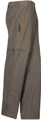 Swiftly convert these pants to shorts for instant comfort from mountain trails to sun-baked shores. Lightweight nylon Sierra Cloth woven fabric dries quickly and has a UPF rating of 30 for sun protection. Comfort-fit side elastic. Zippered thigh pocket. Imported. Shorts inseam: 7. Pants inseam: 29, 31. Sizes: S-3XL, 1X-3X. Colors: Stone, Bark, Caviar (not shown). Size: 3X. Color: Stone. Gender: Female. Age Group: Adult. Material: Nylon. Type: Pants. - $60.00
