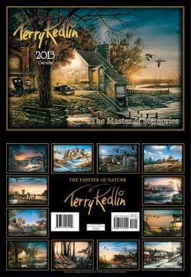 Enjoy 12 heart-warming scenes from one of Americas finest wildlife artists, Terry Redlin. Printed on heavyweight paper. Open dimensions: 20-1/2H x 14W. - $3.73