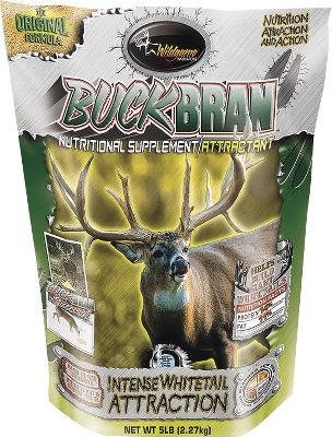 Hunting The high protein and fat content of Buck Bran provides optimal nutrients to take deer to the next level of development. This easily digested, high-protein and high-energy nutrition has a taste that deer crave. The extruded rice bran, cracked corn, soybean meal, vitamins, minerals and molasses provide maximum nutritional value while attracting high numbers of deer. Can be fed straight or mixed with grain or feed. 5-lb. bag. - $5.88