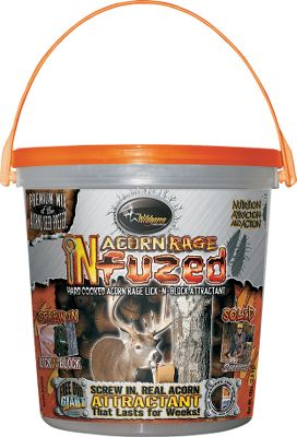 Hunting Fuses real acorns, attractants, vitamins, and minerals into a long-lasting, controlled-release supplement. 5-lb. bucket. Type: Deer Attractants. - $17.88